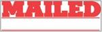 """Xstamper Pre-Inked Stock Stamp """"MAILED"""" Xstamper Stock Stamp"""