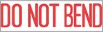 "Xstamper Pre-Inked Stock Stamp ""DO NOT BEND"" Xstamper Stock Stamp"