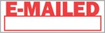 "Xstamper Pre-Inked Stock Stamp ""E-MAILED"" Xstamper Stock Stamp"
