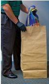 "Kraft Paper Bag, 16"" x 12"" x 35"" - 50/Pkg Kraft Paper Bag Kraft Paper Evidence Bags Evidence Paper Bag"