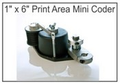 "Print Coder  Mini Print Coder, 1""x6"" 1741200, 1"" x 6"" Print Area Mini Coder Mini Coder, 1"" x 6"" Print Area"