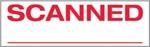 "Xstamper Pre-Inked Stock Stamp ""SCANNED"" Xstamper Stock Stamp"