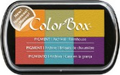 ColorBox® Pigment 6-Color Ink Pad
