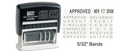 Cosco 2000 Plus Printer S-140/WD (011090) Micro Message Dater