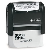 2000 Plus Printer P-30 Self Inking Stamp