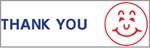 "Xstamper Pre-Inked Stock Stamp ""THANK YOU"" Xstamper Stock Stamp"