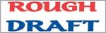 "Xstamper Pre-Inked Stock Stamp ""ROUGH DRAFT"" Xstamper Stock Stamp"