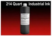 Quart of 214 Industrial Ink