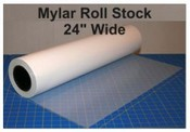 Mylar 24 inch x 300 feet roll stock