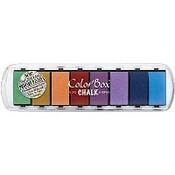 Fluid Chalk Paintbox® Ink Pad, Primary Pastel Color Box Dye Ink Pad Color Box Archival Dye Ink Pad