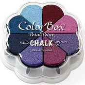 Clearsnap Fluid Chalk Petal Point Ink Pad Fluid Chalk Paintbox Ink Pad Color Box Dye Ink Pad Color Box Archival Dye Ink Pad