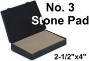 Stone Stamp Pad number 3