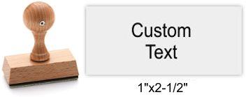 3065 Rustix Rubber Stamp