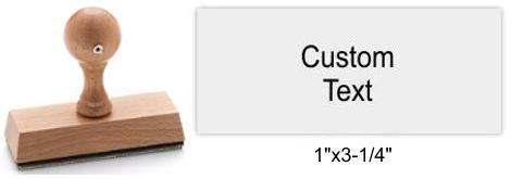 3085 Rustix Rubber Stamp
