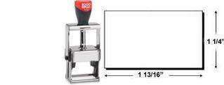 2000 Plus 3300 Heavy Duty Self-Inking Stamp
