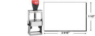 2000 Plus 3600 Heavy Duty Self-Inking Stamp