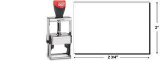2000 Plus 3800 Heavy Duty Self-Inking Stamp