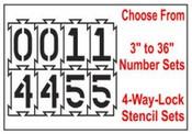 4-Way-Lock Stencil
