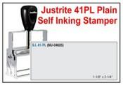 Justrite Plain Self-Inking 41-PL Stamp