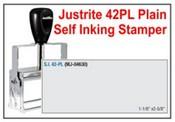 Justrite Plain Self-Inking 42-PL Stamp
