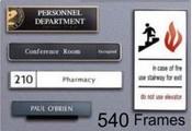 #540 Architectural Aluminum Frames