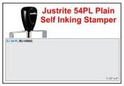 Justrite Plain Self-Inking 54-PL Stamp