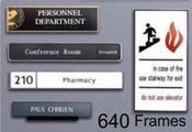 #640 Architectural Aluminum Frames