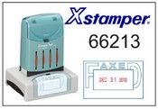 66213 Xstamper VersaDater Faxed Date Stamp