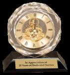 "5-3/4"" Premier Crystal Clock"