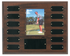 Recognition Awards Awards and Plaque Award 5C1201 Cherry finish perpetual plaque