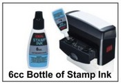 6cc Bottle of Stamp Ink