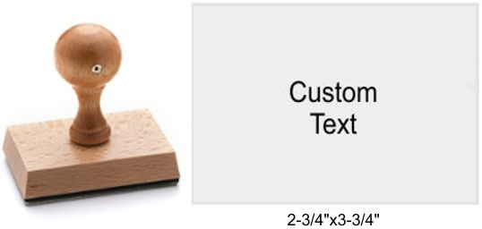 7095 Rustix Rubber Stamp