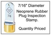 Inspection Stamp, 7/16""