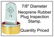 Inspection Stamp, 7/8""