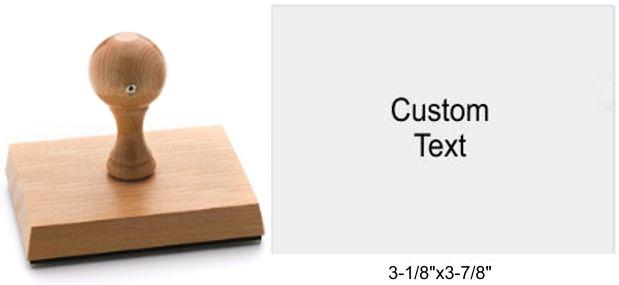 8100 Rustix Rubber Stamp