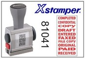 81041 Xstamper 10-in-1 Phrase Stamp