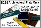 8269 Architectural Nameplate