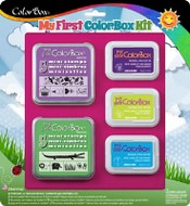 My First ColorBox® Sweets & Jungle mini stamps