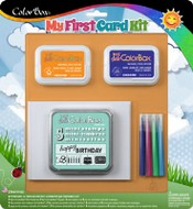 ColorBox® My First Card Kit, Birthday