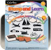 ColorBox® Stamp and Learn Kits, Going Places