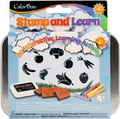ColorBox® Stamp and Learn Kits, Lets Eat