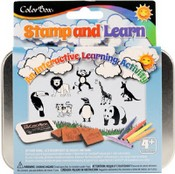 ColorBox® Stamp and Learn Kits, Into the wild