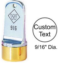 """Inspection Stamp, 9/16"""""""