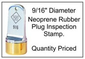 Inspection Stamp, 9/16""
