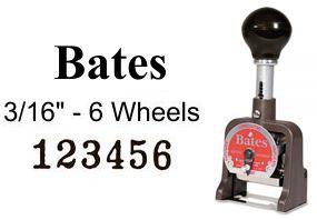 Bates 6E Multi Numbering Machine