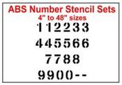 Stencil Number sets
