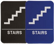 """Stairs Stock ADA Sign, 6""""x9"""" ADA Stock Signs ada sign requirements ada compliant signs custom ada signs ada guidelines signs ada signs wholesale ada bathroom signs ada signs online ADA Office Signs"""