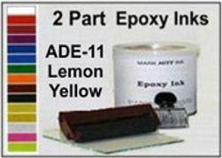 ADE11 Quart Lemon Yellow Epoxy Ink