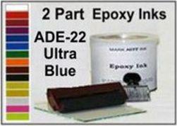 ADE22QT, Epoxy Ink ADE22 Quart Ultra Blue Epoxy Ink