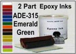 ADE315 Epoxy Ink Quart Emerald Green Epoxy Ink